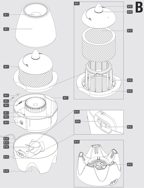 Инструкция по эксплуатации увлажнителя воздуха Air-O-Swiss E2441A
