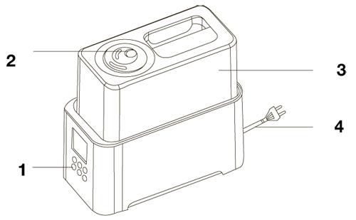 Инструкция по эксплуатации увлажнителя воздуха Electrolux EHU-4515D