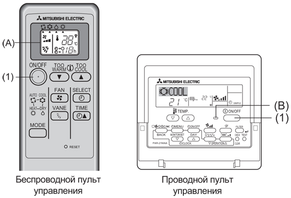 Mitsubishi Electric пульт от кондиционера инструкция - фото 7