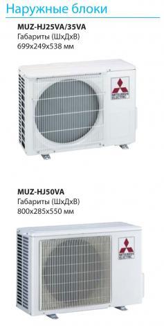 Mitsubishi Electric MSZ-HJ50VA / MUZ-HJ50VA